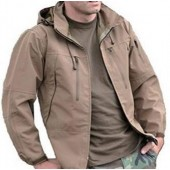 MILTEC SOFTSHELL JACKET PCU COYOTE