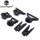 EMERSON FAST HELMET GOGGLE SWIVEL CLIPS BLACK