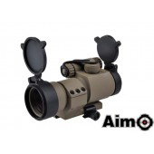 AIM-O AIMPOINT M2 RED/GREEN DOT WITH L SHAPE MOUNT DESERT