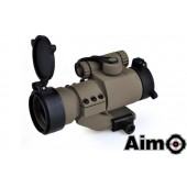 AIM-O AIMPOINT M2 RED/GREEN DOT WITH CANTILEVER MOUNT DESERT