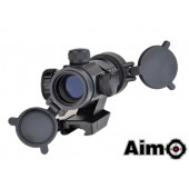 AIM-O AIMPOINT M3 RED/GREEN DOT WITH CANTILEVER MOUNT BLACK
