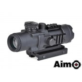 AIM-O SCOPE COMPACT 4X32 BLACK