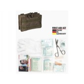 MILTEC OD SMALL PRO. 25-PIECE FIRST AID SET LEINA