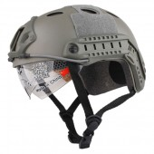 EMERSON GEAR FAST HELMET/PROTECTIVE GOGGLE PJ TYPE FOLIAGE