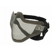 CS STEEL PROTECTIVE HALF FACE MASK V.1 - GREY