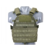 8FIELDS ULTIMATE OPERATOR PLATE CARRIER W/ DUMMY SAPI PLATES - OD