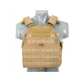 8FIELDS ULTIMATE OPERATOR PLATE CARRIER W/ DUMMY SAPI PLATES - TAN