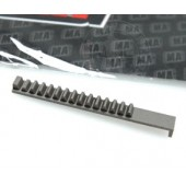 MAG CHROME STEEL PISTON RACK GEAR FOR SYSTEMA PTW SERIES