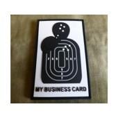 JTG BUSINESS CARD PATCH FULLCOLOR / JTG 3D RUBBER