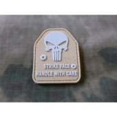 JTG SAPI PLATE PUNISHER PATCH TAN / JTG 3D RUBBER