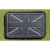 JTG - UK / GREAT BRITAIN FLAG PATCH BLACKOPS / 3D RUBBER