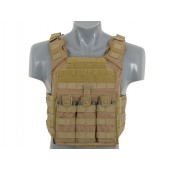 8FIELDS FIRST RESPONDER PLATE CARRIER WITH DUMMY SAPI PLATES TAN