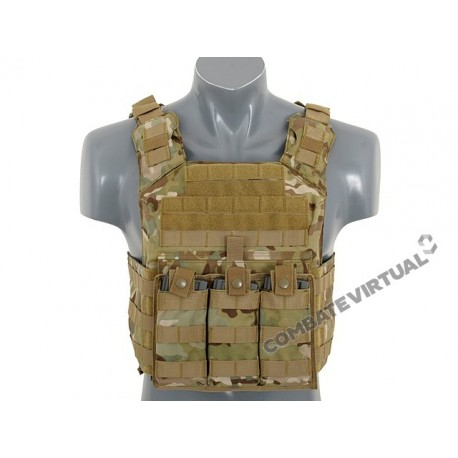 8FIELDS FIRST RESPONDER PLATE CARRIER WITH DUMMY SAPI PLATES MULTICAM