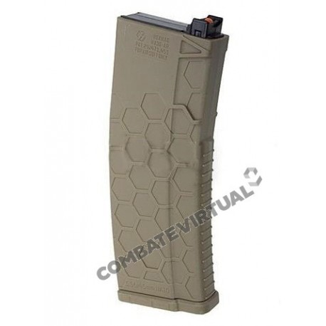 HEXMAG MAGAZINE 120RDS FOR SYSTEMA PTW M4 DARK EARTH