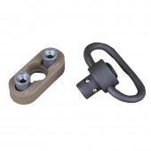 ELEMENT QD SLING MOUNT FOR KEYMOD RAIL SYSTEM TAN