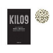 KILO9 0,25G PRECISION 6MM AIRSOFT BB - 4000BBS