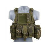 8FIELDS PLATE CARRIER SIDE CUMMERBUND SYSTEM MULTICAM TROPIC