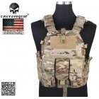 EMERSON TACTICAL VEST 094K M4 POUCH MULTICAM