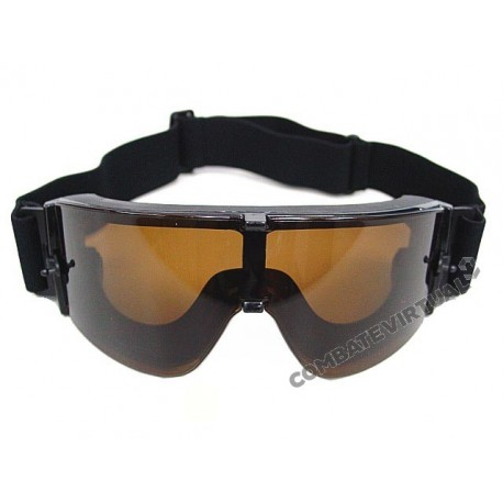ACM GOGGLES X800 LENTES DARK BROWN