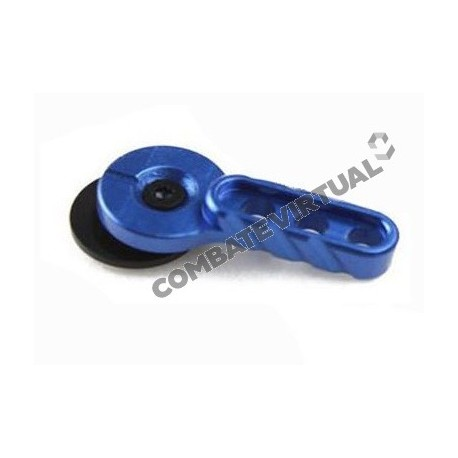 BIGDRAGON CNC SELECTOR LEVER FOR M4 BLUE