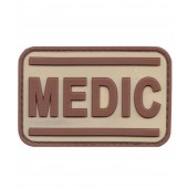 ACM PATCH PVC MEDIC TAN