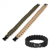 FOSCO PARACORD 8 INCH BLACK