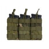 8FIELDS MODULAR OPEN TOP TRIPLE MAG POUCH FOR 5.56 - MULTICAM TROPIC