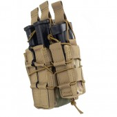 8FIELDS VERSATILE DOUBLE COMBO-MAGAZINE POUCH - MULTICAM