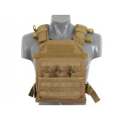 8FIELDS ASSAULT PLATE CARRIER WITH DUMMY SAPI PLATES - TAN