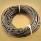 GRIZZLY SILICONE WIRE 1MM2 - 50CM BLACK