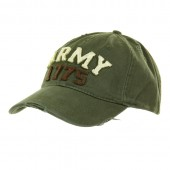 ACM BASEBALL CAP STONE WASHED ARMY 1775