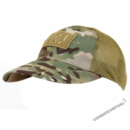 3e6caf603c4 101 INC BASEBALL CAP MESH TACTICAL MULTICAM - Combate Virtual - Loja ...