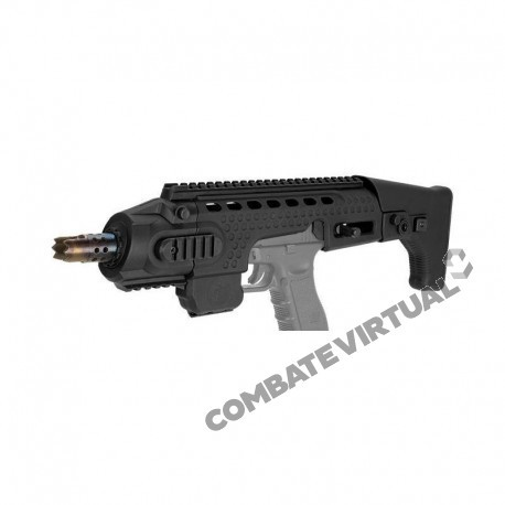 APS CARABINE ACTION COMBAT RONI FOR GLOCK 17/18 BLACK