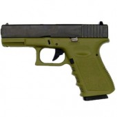 KJ WORKS G23 GAS BLOWBACK OD GREEN
