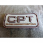 JTG CLOSE PROTECTION TEAM PATCH DESERT 3D RUBBER