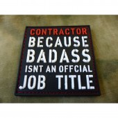 JTG CONTRACTOR PATCH FULLCOLOR 3D PATCH