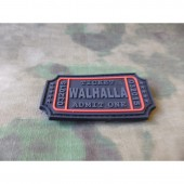 JTG WALHALLA TICKET PATCH BLACKOPS 3D RUBBER