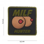 ACM PATCH 3D PVC MILF HUNTER GREEN