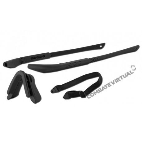 ESS Eyewear 740-0083 Replacement Frame//Nosepiece Kit Black For Ice Naro