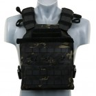 8FIELDS ASSAULT PLATE CARRIER WITH DUMMY SAPI PLATES - MULTICAM BLACK
