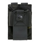 8FIELDS RADIO POUCH MULTICAM BLACK