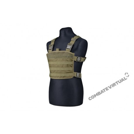 GFC MINI CHEST RIG TACTICAL VEST OD