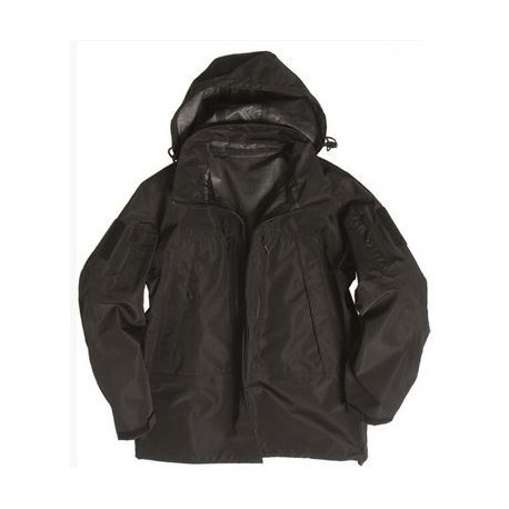 MILTEC SOFTSHELL JACKET PCU BLACK
