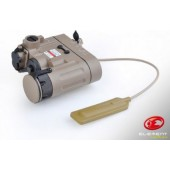 ELEMENT DBAL-EMKII LASER AND FLASHLIGHT TAN