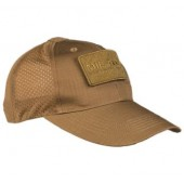 MILTEC DARK COYOTE NET BASEBALL CAP