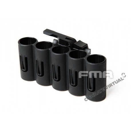 FMA SH-5 SHELL HOLDER BLACK