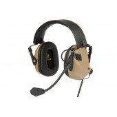 EARMOR UNIVERSAL HEADSET M32 WITH NOISE PROTECTION - TAN
