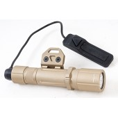 OPSMEN FAST 501M WEAPON LIGHT FOR M-LOK SYSTEM (1000 LUMENS) -TAN