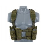 8FIELDS SPLIT FRONT CHEST HARNESS - MULTICAM TROPIC