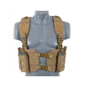 8FIELDS SPLIT FRONT CHEST HARNESS - TAN